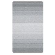 BADTEPPICH in Platinfarben 70/120 cm - Platinfarben, Design, Kunststoff/Textil (70/120cm) - Kleine Wolke