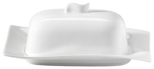 BUTTERDOSE Porzellan - Weiß, Basics (19,3/14/2,2cm) - NOVEL