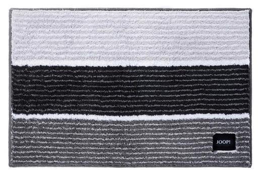 BADTEPPICH in Anthrazit, Grau, Hellgrau 60/90/ cm - Anthrazit/Hellgrau, Design, Textil (60/90/cm) - Joop!