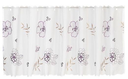 KURZGARDINE   150/48 cm - Violett, Basics, Textil (150/48cm) - ESPOSA