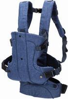 KENGURU W-05--01 - modra/temno modra, Basics, tekstil - Fillikid