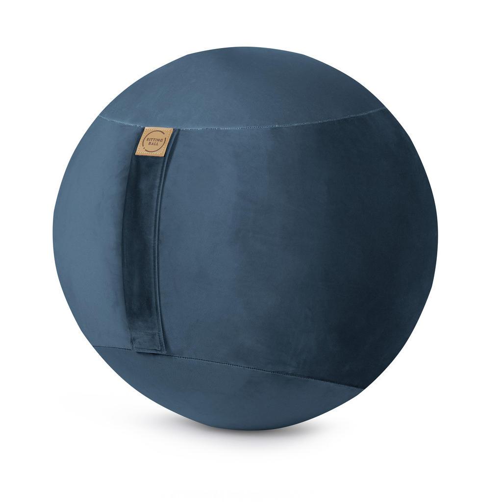 XXXLutz Sitzball samt uni grau