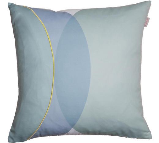 KISSENHÜLLE Blau, Creme, Gelb, Mintgrün 45/45 cm  - Blau/Gelb, Trend, Textil (45/45cm) - Esprit