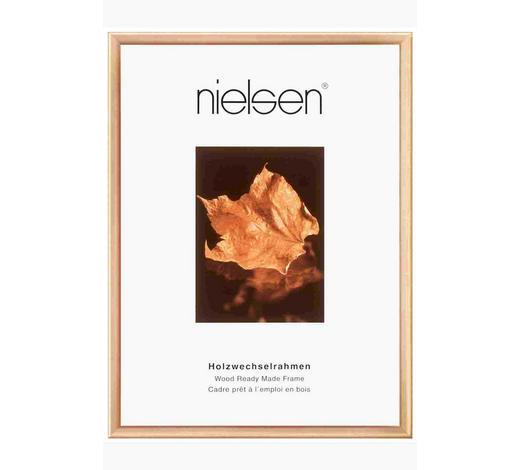 BILDERRAHMEN  Goldfarben - Goldfarben, Basics, Holz (24/30cm) - Nielsen