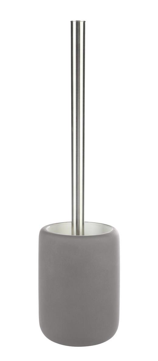 WC SADA - šedá/barvy chromu, Basics, umělá hmota/keramika (9,9/40cm)