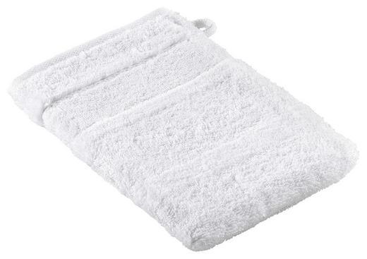 WASCHHANDSCHUH - Weiß, Textil (16/22cm) - CAWOE