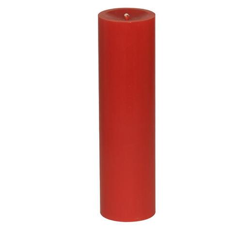 STUMPENKERZE 6,8/25 cm - Rot, Basics (6,8/25cm) - Steinhart