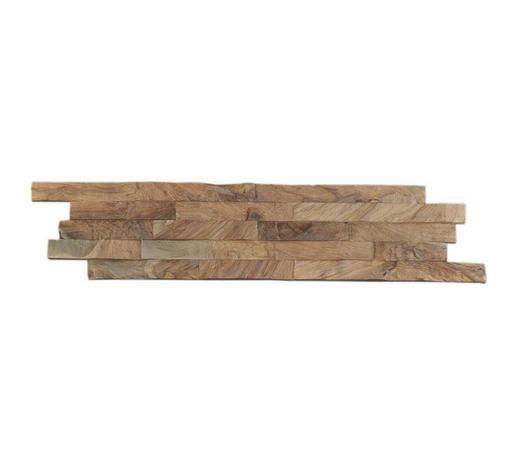 WANDVERKLEIDUNG - Teakfarben, Holz (61/15/1-2cm) - Venda