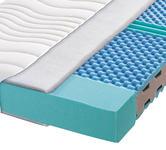 KALTSCHAUMMATRATZE 180/200 cm  - Weiß, Basics, Textil (180/200cm) - Carryhome