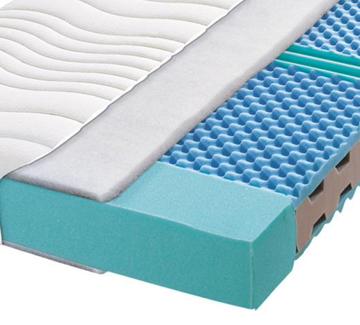KALTSCHAUMMATRATZE 160/200 cm  - Weiß, Basics, Textil (160/200cm) - Carryhome