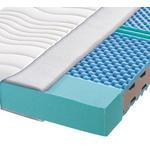 KOMFORTSCHAUMMATRATZE 180/200 cm  - Weiß, Basics, Textil (180/200cm) - Carryhome