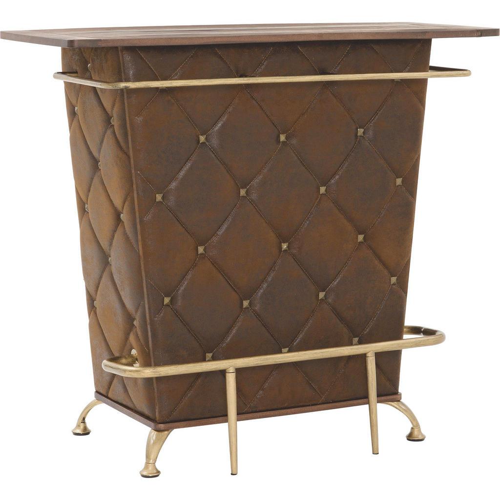 Kare-Design BAR Braun, Gold   Küche und Esszimmer > Bar-Möbel > Bars   Holzwerkstoff   Kare-Design