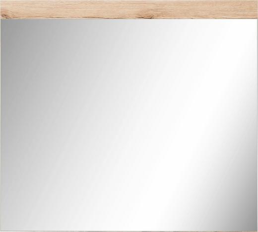 SPIEGEL Eichefarben - Eichefarben, Design, Glas/Holzwerkstoff (80/72cm)