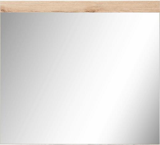 SPIEGEL  - Eichefarben, Design, Glas/Holzwerkstoff (80/72cm)