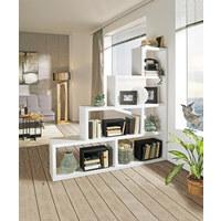 RAUMTEILER in Weiß - Weiß, Design, Holzwerkstoff (164/164/29cm) - Boxxx