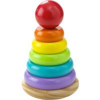 VĚŽ STOHOVATELNÁ - Multicolor, Natur, dřevo (10/16cm) - My Baby Lou