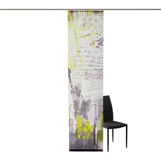 FLÄCHENVORHANG   blickdicht   60/245 cm - Braun/Grün, Basics, Textil (60/245cm) - NOVEL
