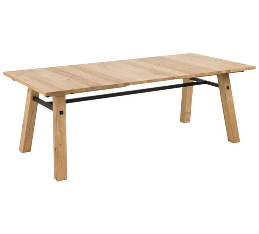 ESSTISCH in Holz 210/95/75 cm   - Eichefarben, KONVENTIONELL, Holz (210/95/75cm) - Carryhome