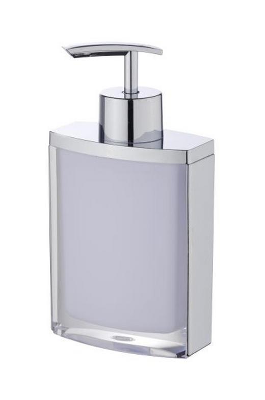 SEIFENSPENDER - Weiß, Basics, Kunststoff (8,5/4,5/16,5cm)