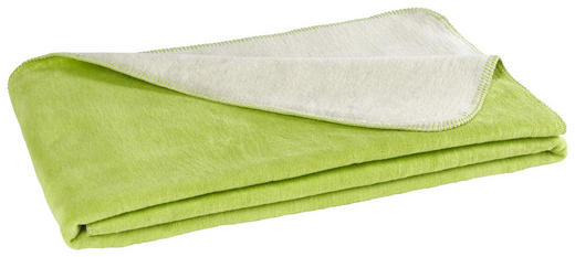 WOHNDECKE 150/200 cm Limette, Naturfarben - Limette/Naturfarben, Design, Textil (150/200cm) - Novel