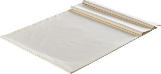 TISCHDECKE Textil Creme 130/250 cm - Creme, Textil (130/250cm)