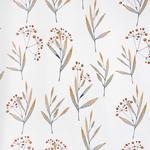 VORHANGSTOFF per lfm Verdunkelung - Graphitfarben/Orange, KONVENTIONELL, Textil (150cm) - Esposa