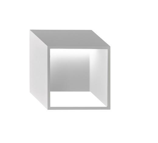 LED-WANDLEUCHTE - Weiß, Design, Metall (25/25/9,2cm)