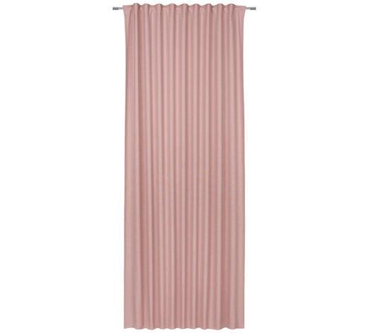 ZÁVĚS, neprůsvitné, 140/245 cm - růžová, Basics, textil (140/245cm) - Esposa