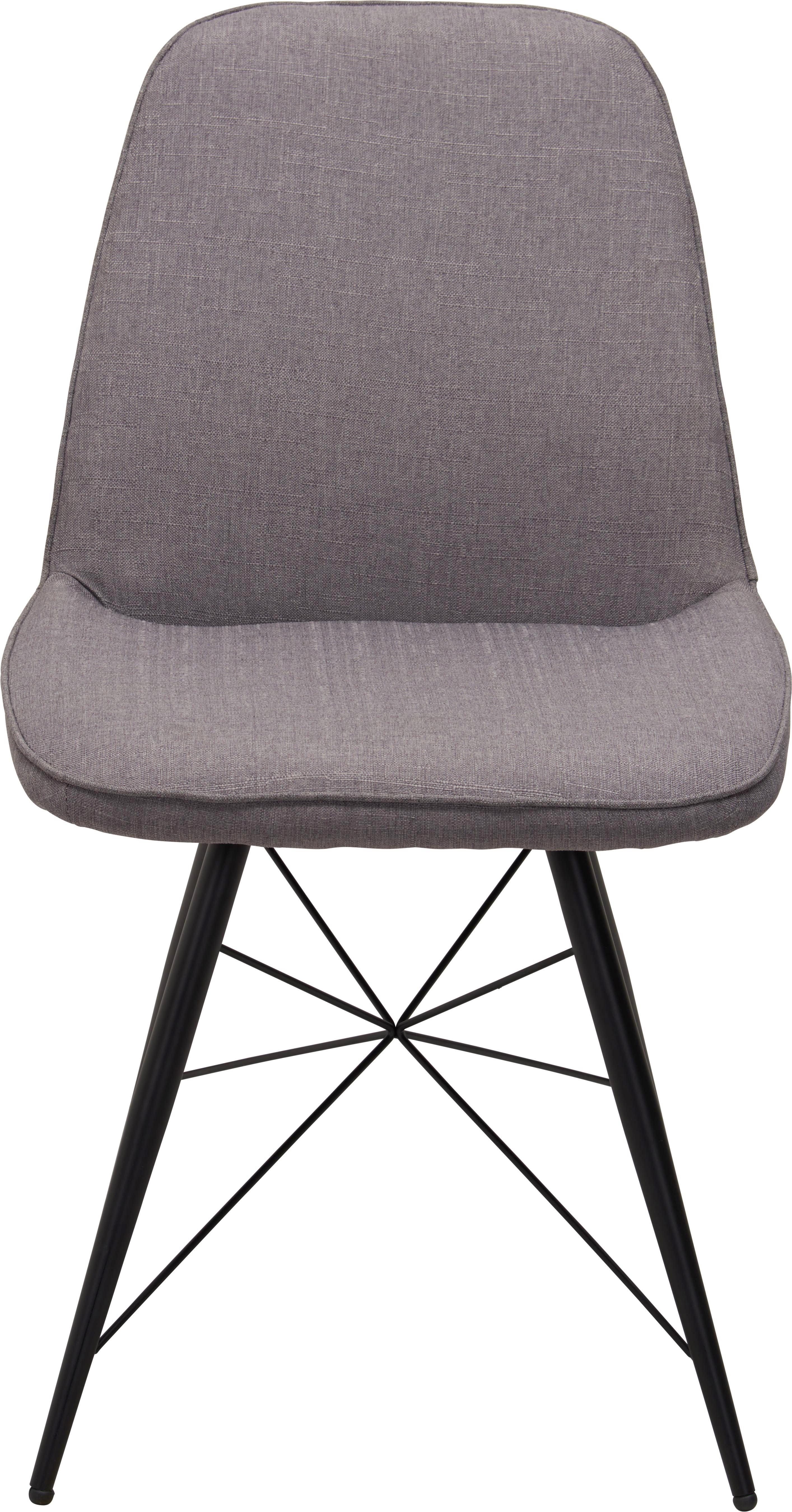 Stuhl In Stuhl In GrauSchwarz MetallTextil 4j3q5RLA