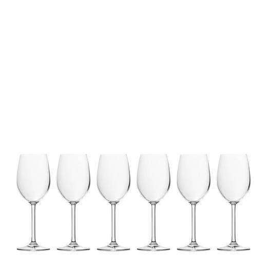 Weißweinglas-Set 6-teilig - Klar, Basics, Glas (0,37cm) - Leonardo