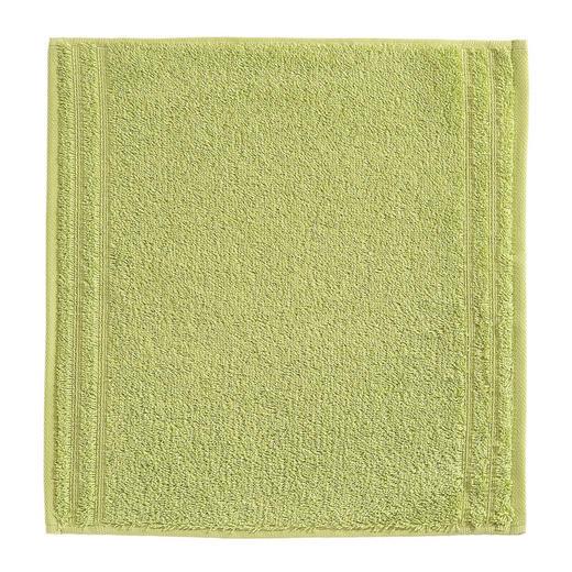 SEIFTUCH  Grün - Grün, Basics, Textil (30/30cm) - Vossen