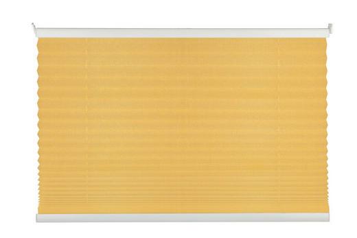 PLISSEE  halbtransparent  100/130 cm - Goldfarben, Basics, Kunststoff (100/130cm)