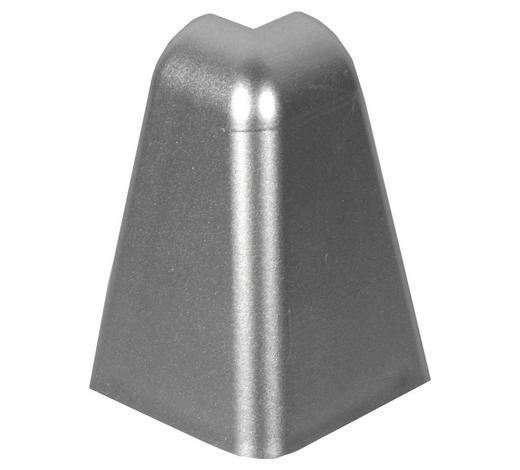 ROH VNĚJŠÍ  (za kus) - barvy stříbra, Basics, umělá hmota (2,01/3,96cm)