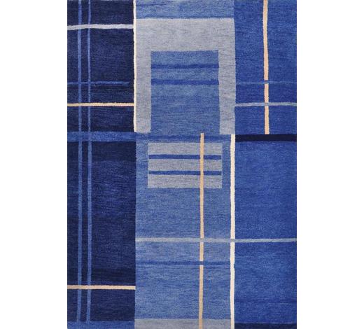 KOBEREC ORIENTÁLNÍ, 120/180 cm, modrá - modrá, Konvenční, textil (120/180cm) - Esposa