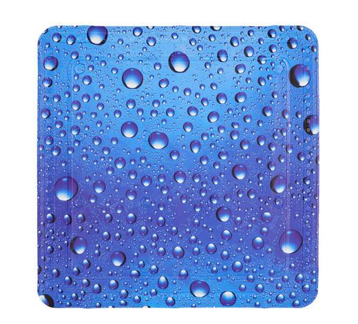 BADEWANNENEINLAGE Textil - Blau, KONVENTIONELL, Textil (36/92cm) - Kleine Wolke
