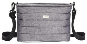 WICKELTASCHE    - Grau, Basics, Textil (32/14/21cm) - My Baby Lou