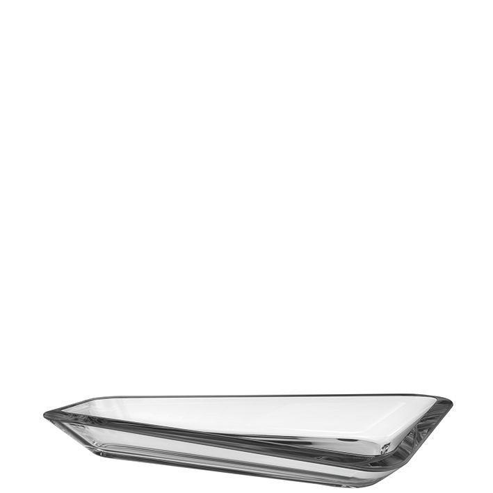 SCHALE - Grau, Basics, Glas (35,50/19,5cm) - LEONARDO