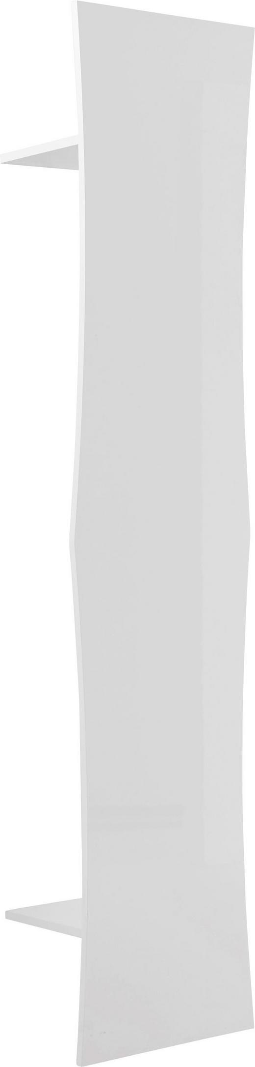 GARDEROBENPANEEL Hochglanz, lackiert Weiß - Weiß, Design (42/185/28cm) - Voleo