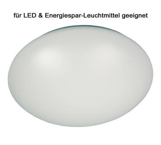 Niermann Deckenleuchte - Weiß, Basics, Kunststoff/Metall (45/45/11cm)