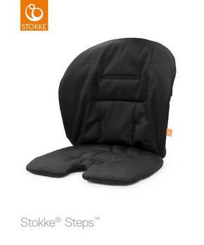 stokke steps baby cushion - svart, Basics, textil (18/28/5cm) - Stokke