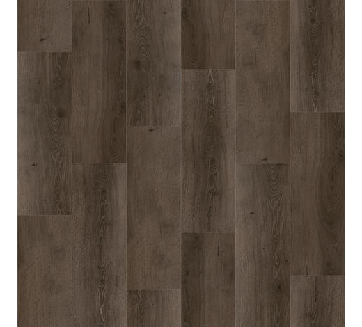 VINYLBODEN per  m² - Eichefarben/Dunkelgrau, MODERN, Holzwerkstoff/Kunststoff (120,7/21,6/0,91cm) - Parador