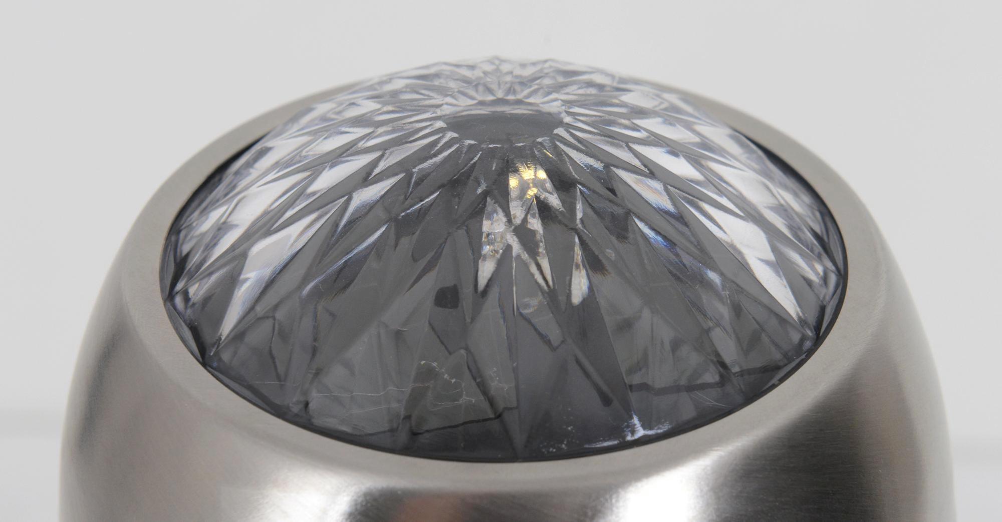 SOLARLEUCHTE - Alufarben, Design, Kunststoff/Metall (9/38cm)