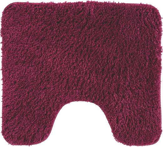 WC-VORLEGER - Lila, Basics, Weitere Naturmaterialien/Textil (45/50cm) - Esposa