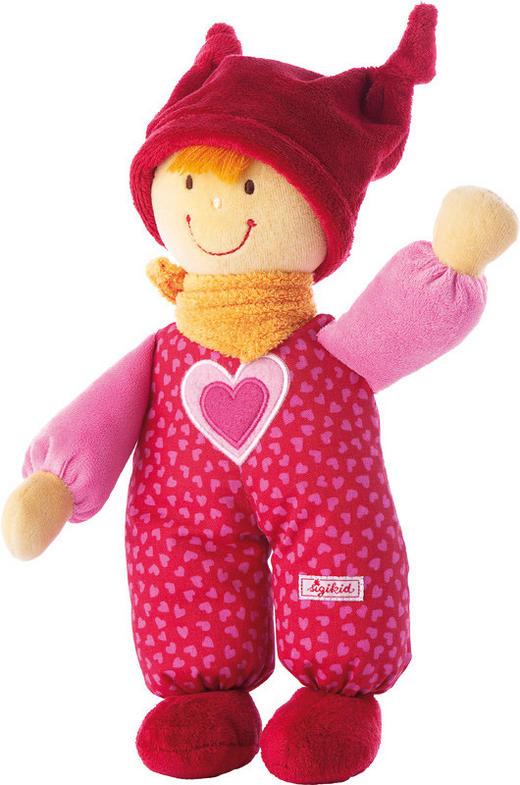 Puppe Babydolly - Pink/Rosa, Basics, Textil (24cm) - Sigikid