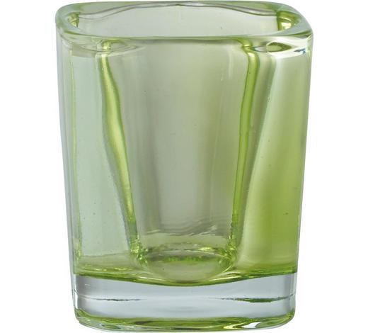 TEELICHTGLAS - Grün, Basics, Glas (0cm)
