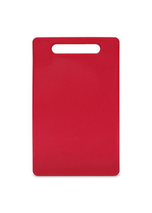 SCHNEIDEBRETT - Rot, Basics, Kunststoff (24/15/0,6cm) - Homeware