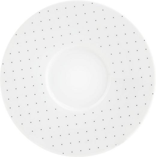 UNTERTASSE - Schwarz/Weiß, Basics, Keramik (17,5l) - Seltmann Weiden