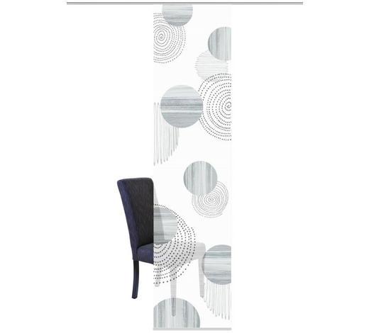 FLÄCHENVORHANG in Grau - Grau, Design, Textil (60/260cm)