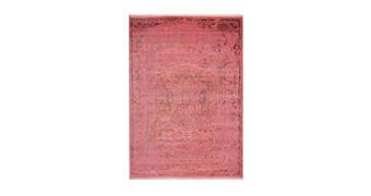 PREPROGA  140/190 cm  taftano  večbarvno, roza  - roza/večbarvno, Basics, tekstil (140/190cm)