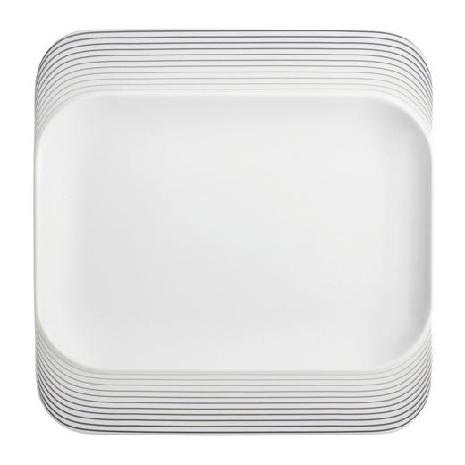 TELLER Keramik Porzellan - Weiß, Basics, Keramik (24/24cm) - Seltmann Weiden